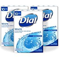 3-Pack Dial Antibacterial Deodorant Soap 10 Count (White)