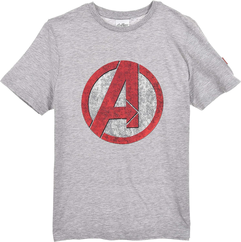 Disney Avengers Uomo Pigiama Corto