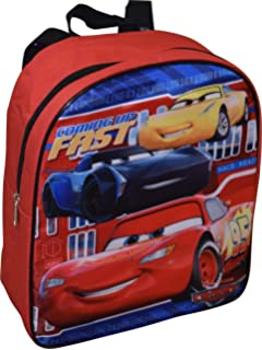 Amazon.com: Disney Cars Lightning McQueen Toddler Backpack ...