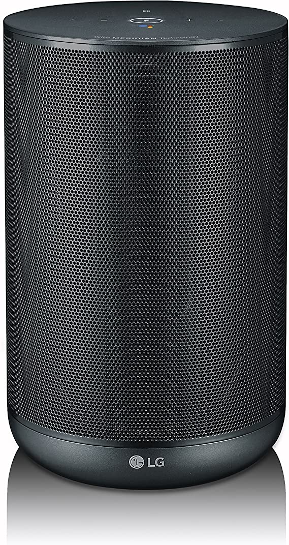 LG WK7 ThinQ - Altavoz (con Asistente Google Integrado), Color Negro: Amazon.es: Electrónica