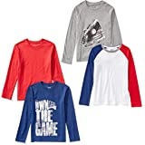Amazon Brand - Spotted Zebra Boys' Long-Sleeve T-Shirts