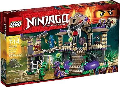 Amazon.com: LEGO Ninjago entra a la serpiente: Toys & Games