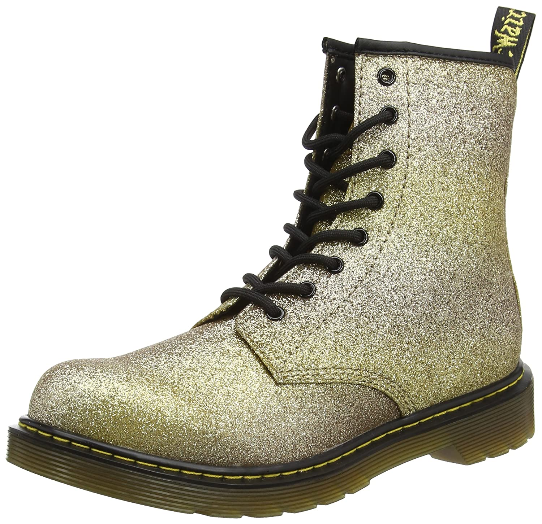 f73ba8876 Amazon.com | Dr. Martens Unisex-Child Delaney Y GLTR Youth Lace Boot | Boots