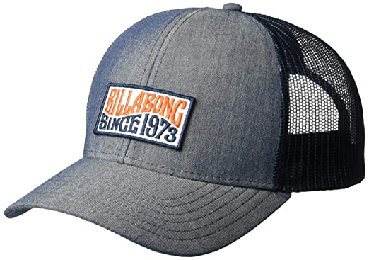 94cf602841e814 Amazon.com: Billabong Men's Walled Trucker Hat Indigo One Size: Clothing