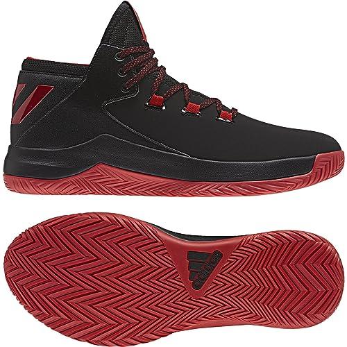 newest d9de8 d50dd adidas Mens D Rose Menace 2 Sneakers, Black EscarlNegbas, ...