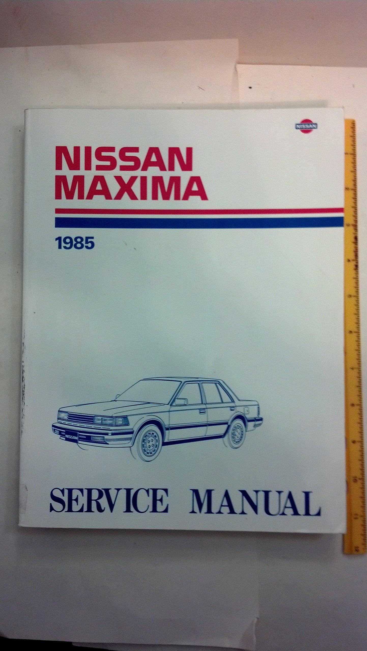 1986 Nissan Maxima Service Manual: Nissan Motor Company: Amazon.com: Books