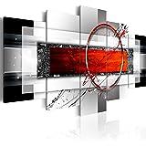 murando - Cuadro en Lienzo 200x100 cm - Abstraccion - Impresion en Calidad fotografica - Cuadro en Lienzo Tejido-no Tejido - Arte a-A-0052-b-n