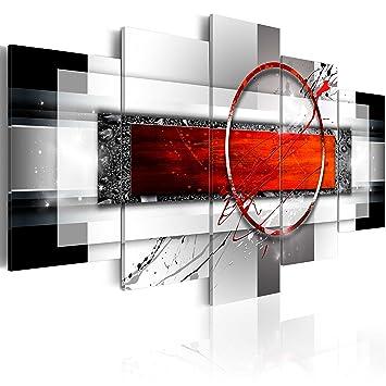 murando - Bilder 225x112 cm Vlies Leinwandbild 5 TLG Kunstdruck modern  Wandbilder XXL Wanddekoration Design Wand Bild - Abstrakt aA-0052-bn