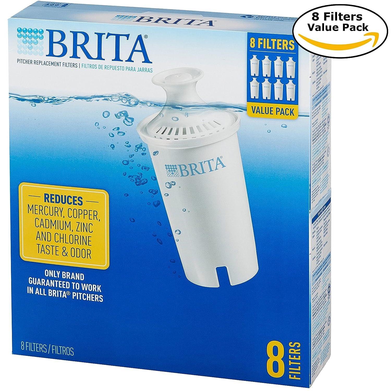 Brita 766229 ピッチャー交換フィルター 8パック B073Q7LSFM