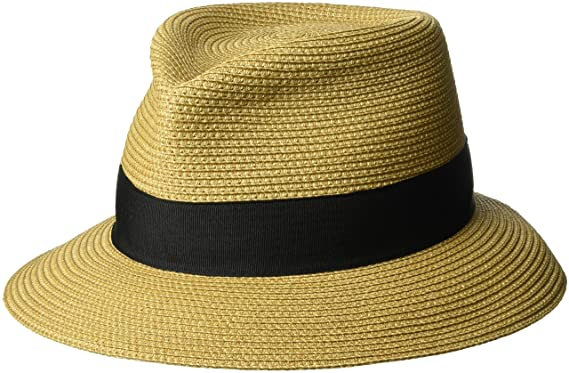 51667f59 Eric Javits Women's Squishee Classic-Natural/Black, One Size at Amazon  Women's Clothing store: Sun Hats