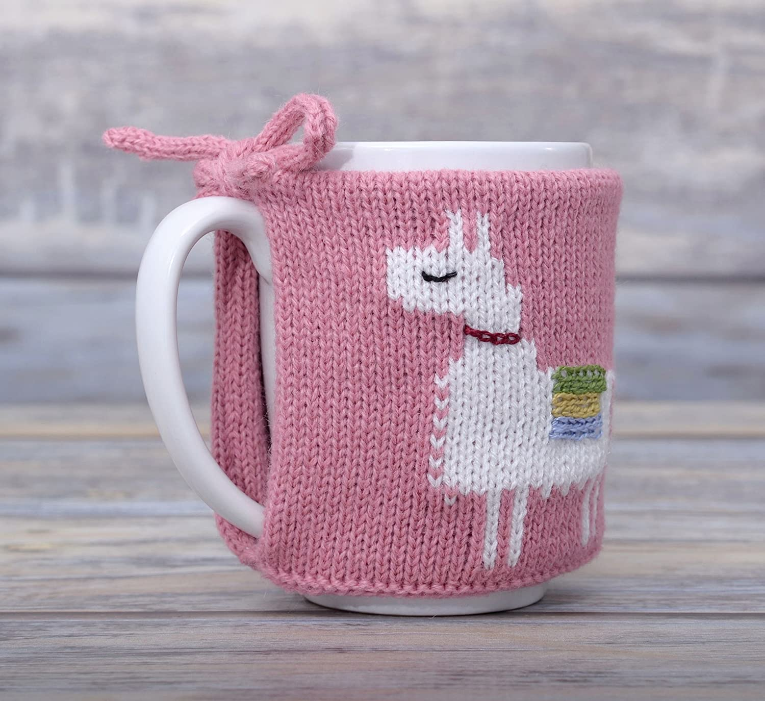 Amazon.com: Llama Gift Coffee Cozy Tea Cosy Mug Sleeve Party Favor ...
