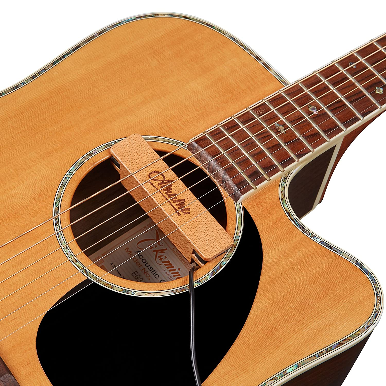 Amazon.com: Amumu NEO-SP30 Passive Neodymium Magnetic Soundhole Pickup for  Acoustic Guitar: Musical Instruments