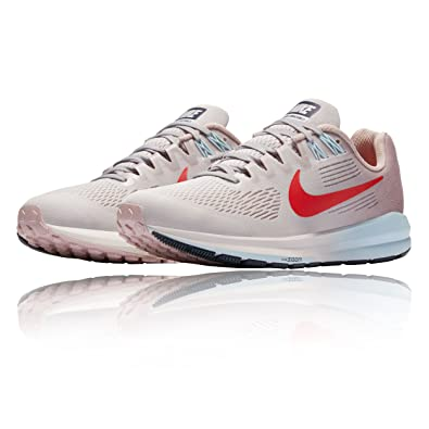 sports shoes 6fc9b cbe44 Nike W AIR Zoom Structure 21, Chaussures de Running Femme, Beige (Gris Vaste