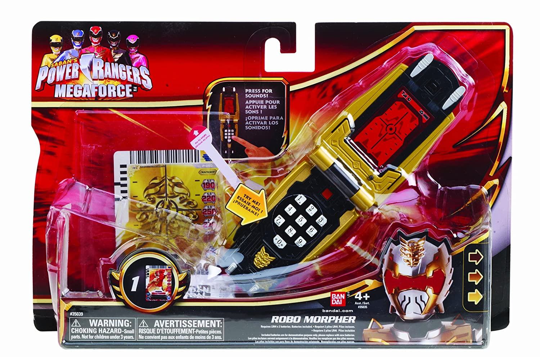 Power Rangers Megaforce Battle Gear Robo Morpher: Amazon.co.uk: Toys ...