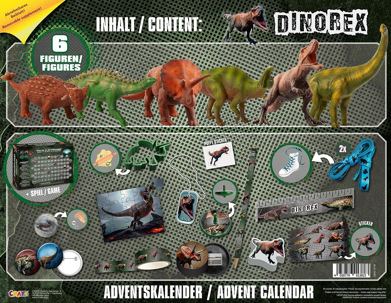 Craze 57323/ /Calendario de Adviento DreamWorks Dragons