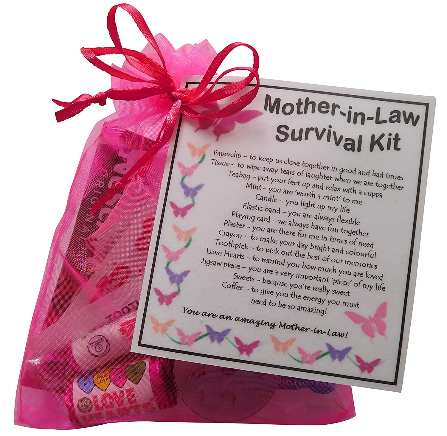 Mother In Law Survival Kit Gift Great Present For Wedding Birthday