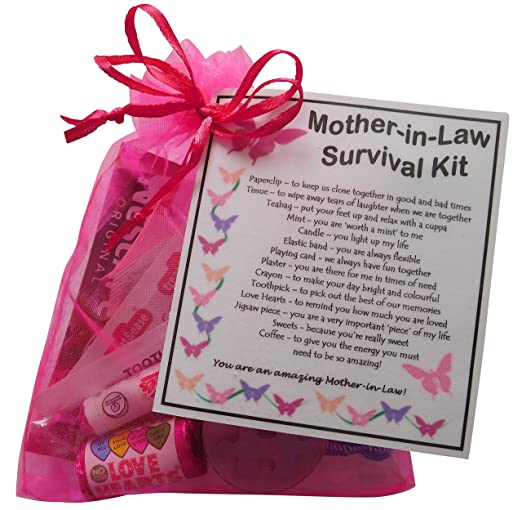 Madre-in-Law Kit de supervivencia para regalo (ideal como ...
