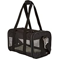 AmazonBasics Black Soft-Sided Pet Carrier - Extra-Small