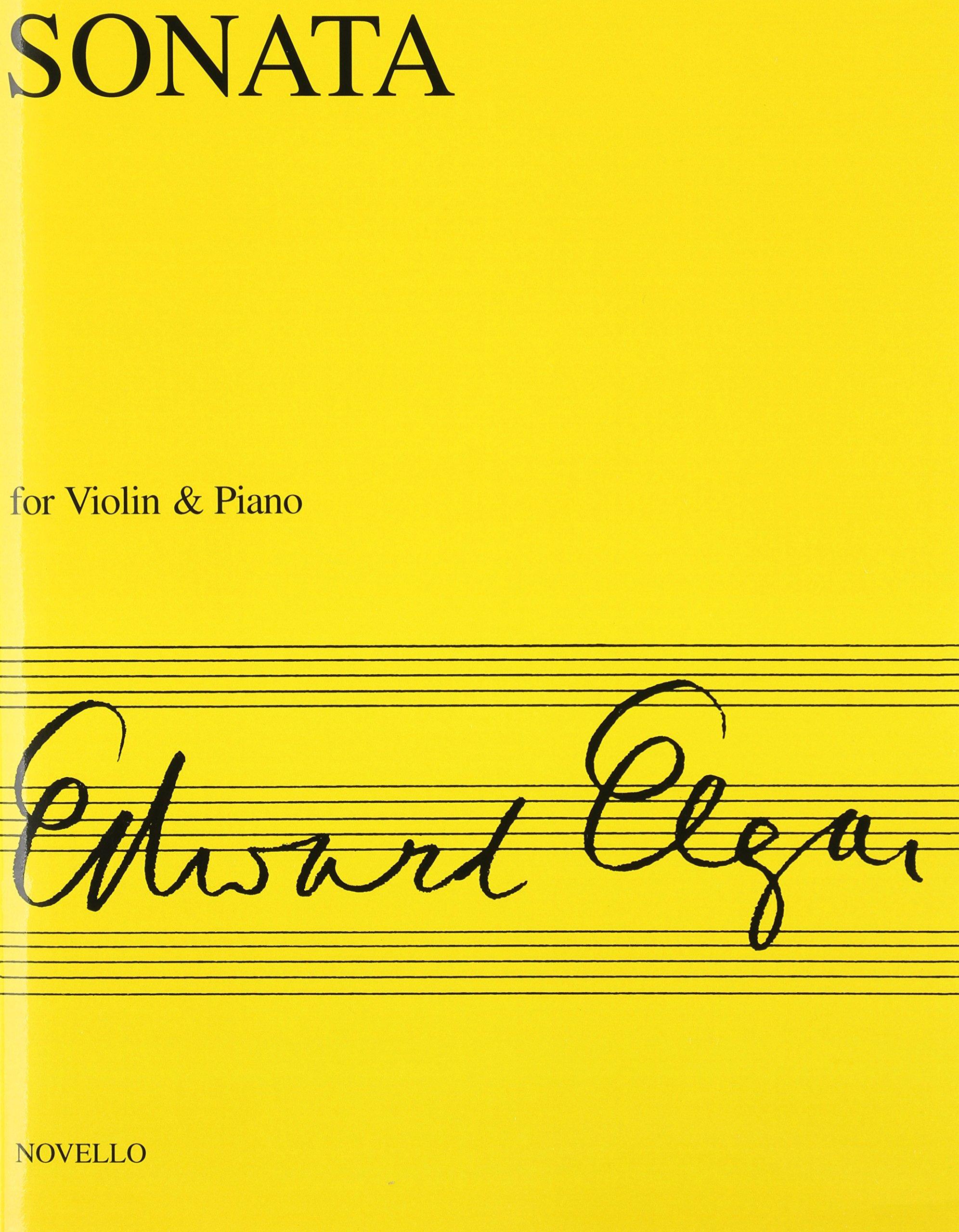 Sonata For Violin And Piano E Minor Edward Elgar