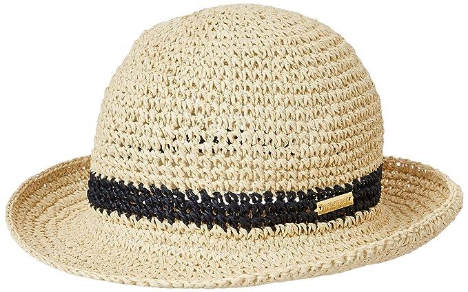 Womens Hut Summer Solids Sun Hat, Braun (Raffia 624), One Size Watercult
