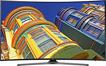Samsung Curved 55-Inch 4K Ultra HD Smart LED TV1: Amazon.es: Electrónica