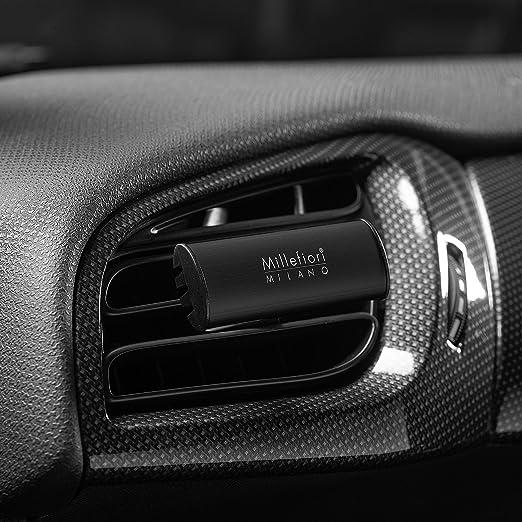 Millefiori Classic Autoduft Kunststoff Schwarz 6 4cm Küche Haushalt