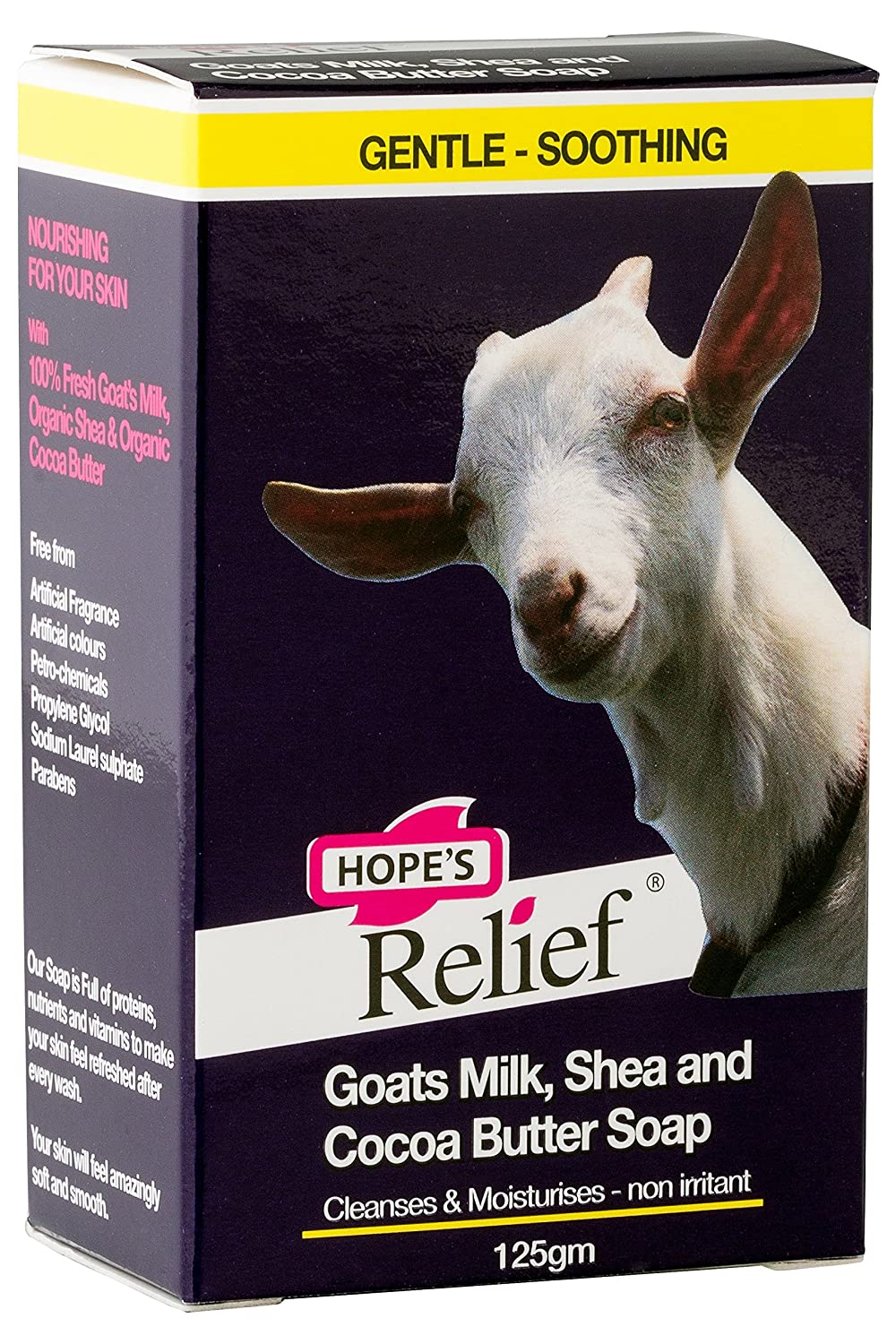 Hope's Relief Goat's Milk Soap - natural formula for skin prone eczema, psoriasis and dermatitis (babies, children, adults) Mahi Naturals Ltd HOPESGOSOAP