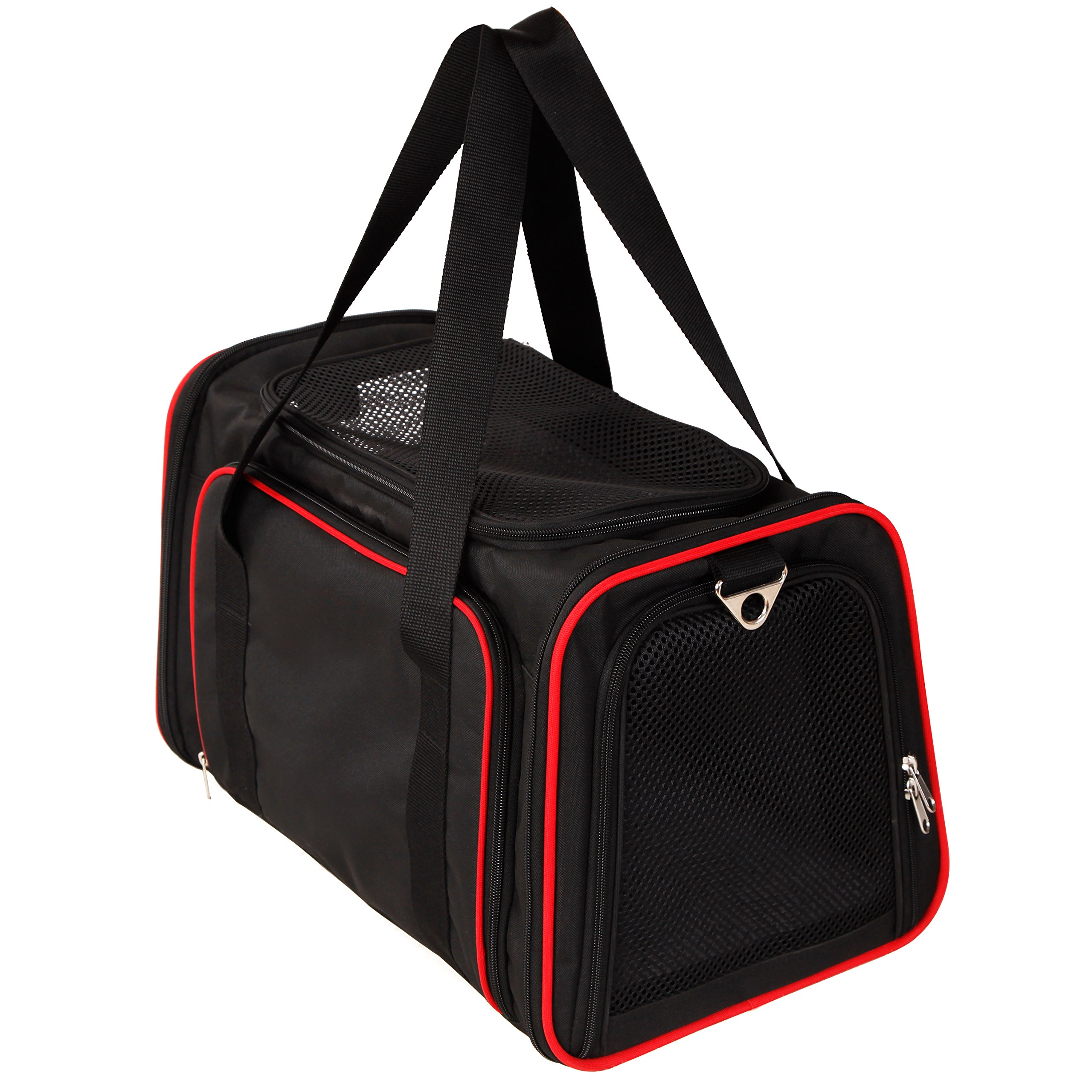 A4Pet Airline Approved Pet Carrier, Both Side Expandable, Top Loading Cats Small Dogs Puppy Small Animals by A4Pet (Image #2)