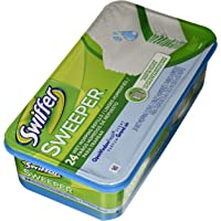 Swiffer 686696619636 PG-3231 Sweeper Wet Mopping Cloth Refill-Open Window Fresh-24 ct, 1 Pack, Multi, 24 Count