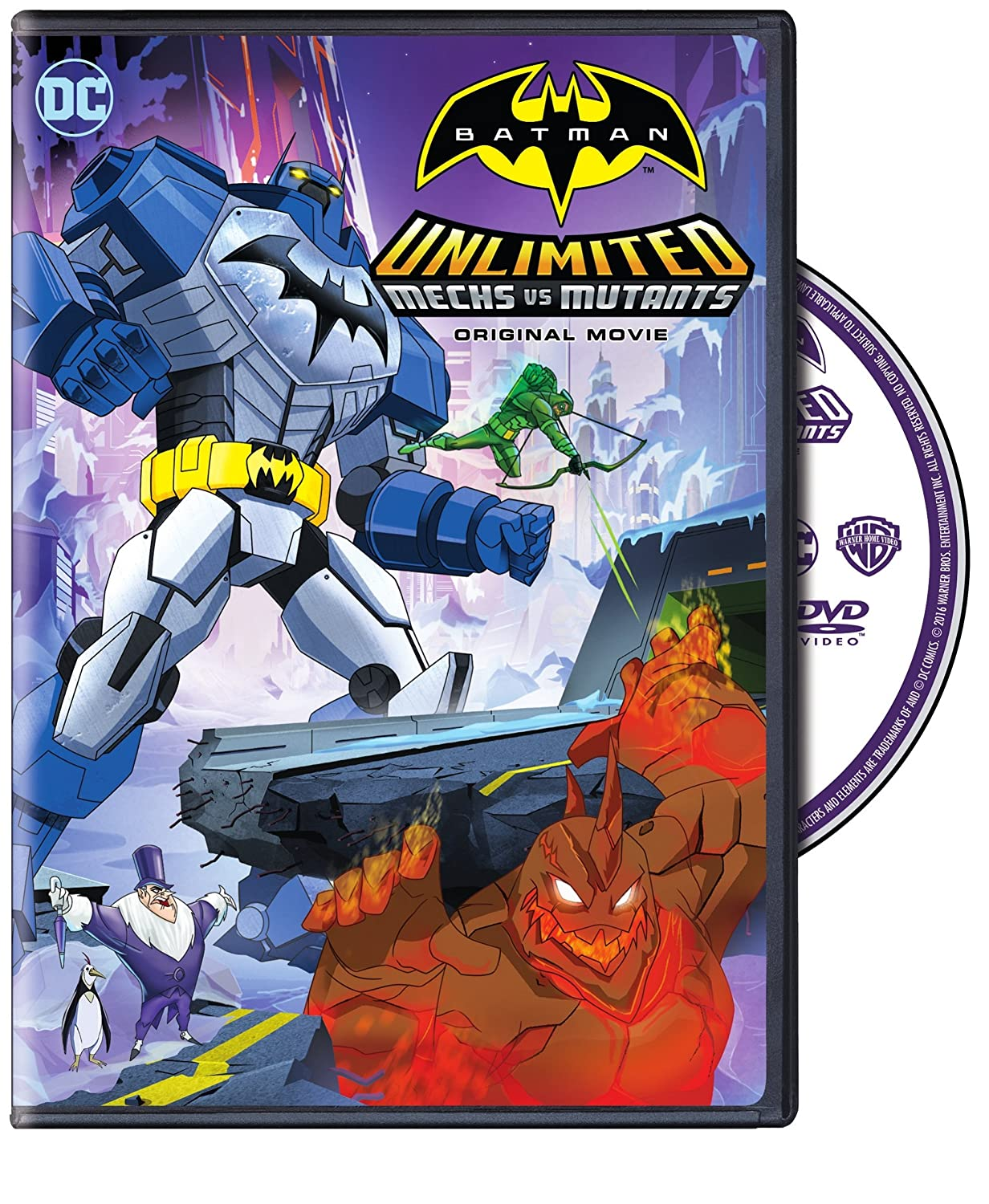 Amazon.com: Batman Unlimited: Mechs vs. Mutants: Various ...