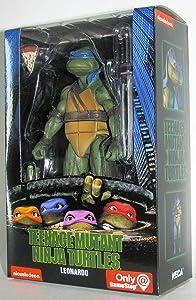 Teenage Mutant Ninja Turtles 90's Movie Leonardo 6.5-inch Action Figure by NECA Reel Toys 2019 GameStop Exclusive