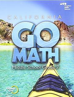 California Go Math! Middle School Grade 8, Teacher Edition