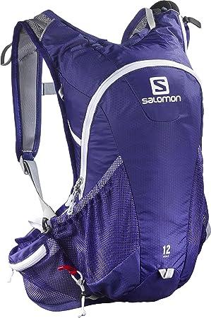Salomon Agile 12 Mochila, Unisex Adulto, Azul (Spectrum Blue), Talla Única: Amazon.es: Deportes y aire libre