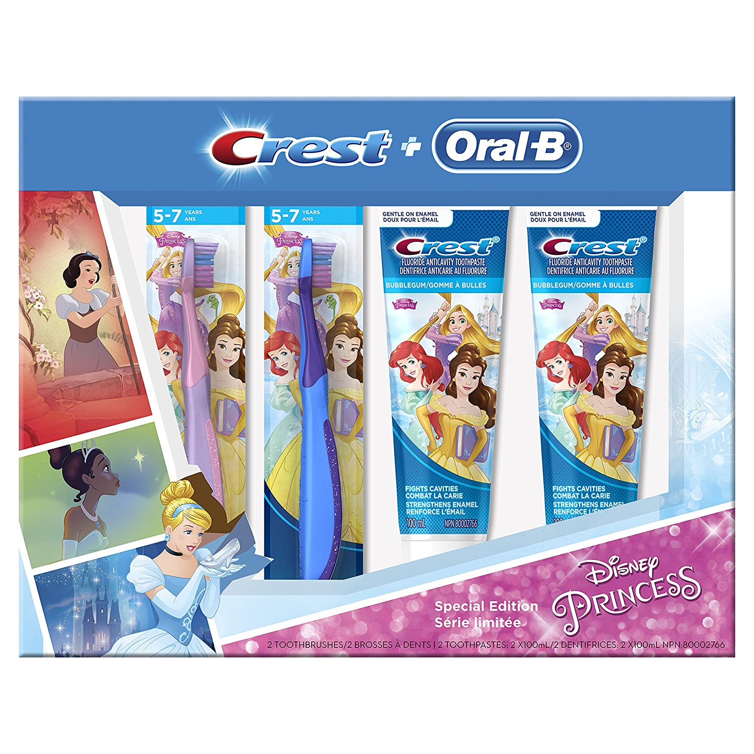 $5 Crest Oral-B & Kids Special Pack Featuring Disneys Princess Characters