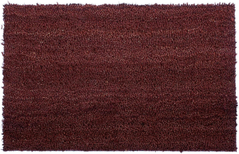 Marron 40x60cm Primaflor Ideen in Textil Tapis dentr/ée en Coco Marron Paillasson Durable en Fibre Naturelle de Coco