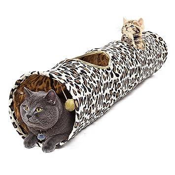 Speedy Pet Túnel del gato para el tubo grande gordo 130X30CM del gato: Amazon.es: Productos para mascotas