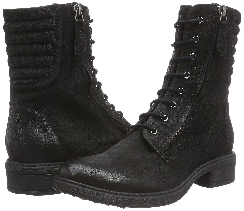 BPrivate C1102X Damen Stiefel Combat Stiefel Damen Schwarz (Nero) d0cfbd