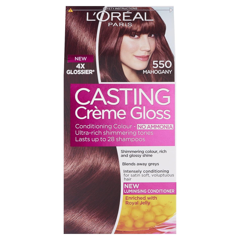 Loreal Casting Creme Gloss 550 Mahogany Semi Permanent Hair Dye