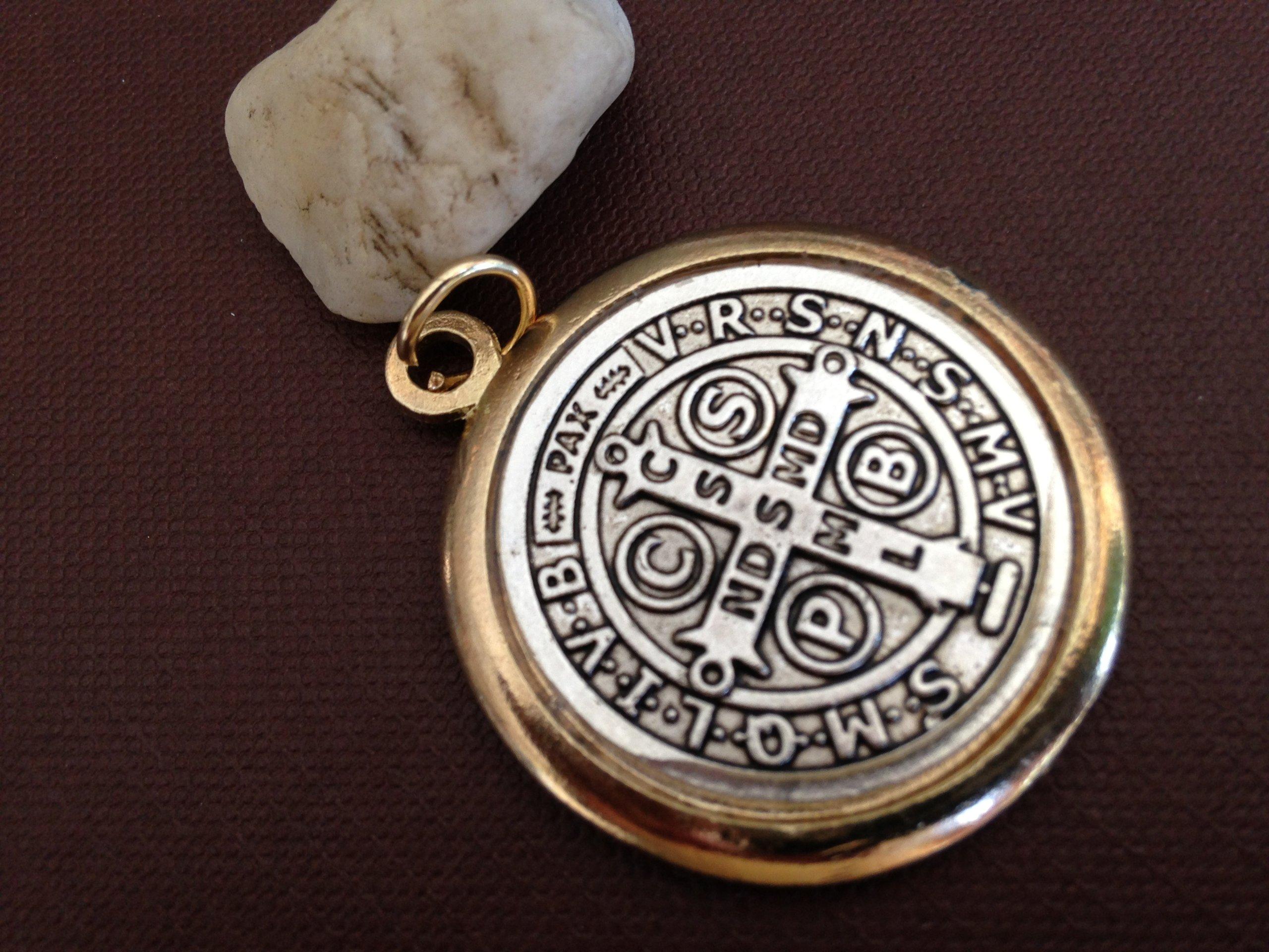 St Benedict Jubilee Exorcism Medal 1.5''/ Mrt/ Medal Pendant/ Medalla Jubilar De San Benito