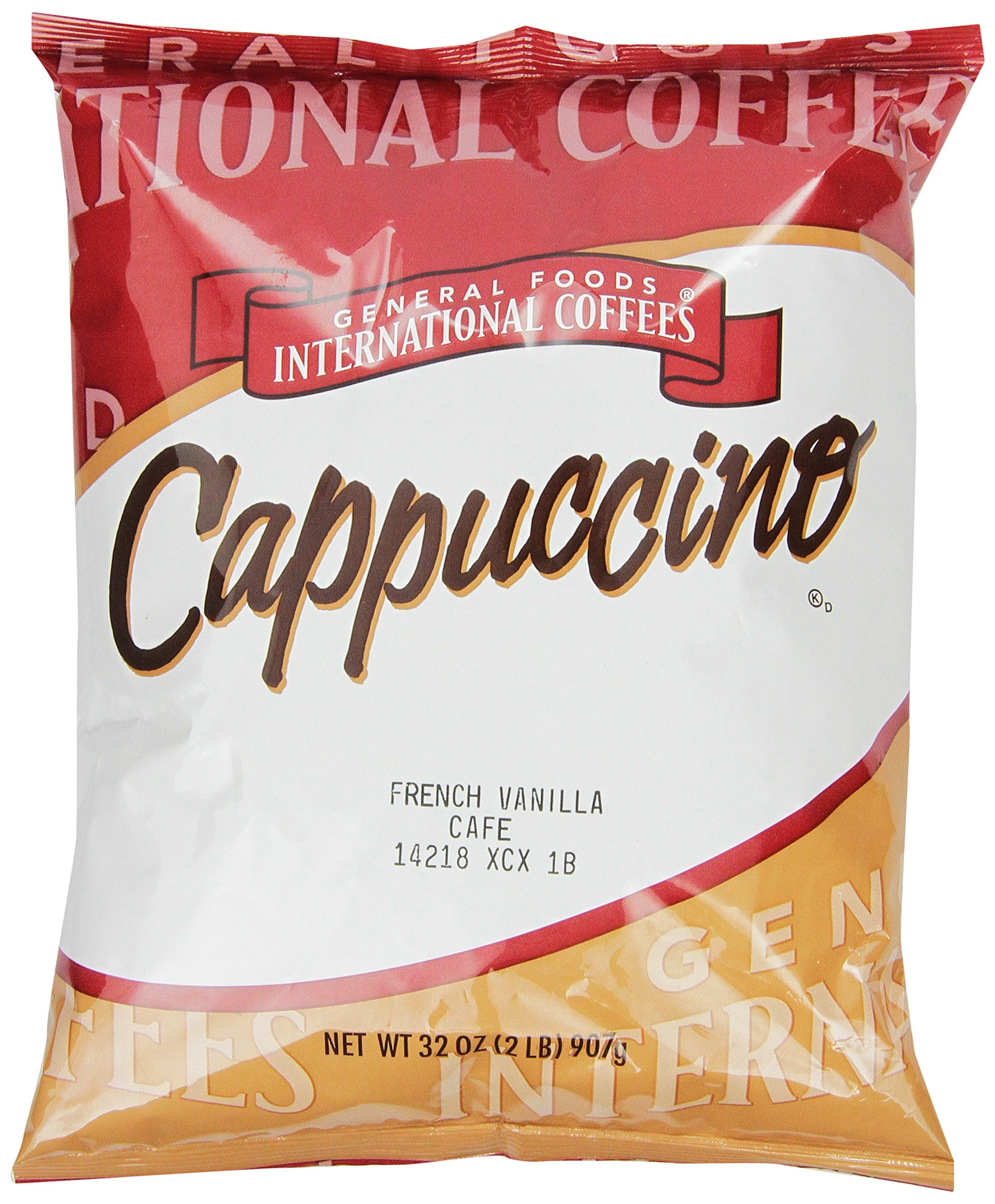 General Foods International Coffees French Vanilla Cappuccino Mix, 32-Ounce Packages (Pack of 6) by General Foods International Coffee