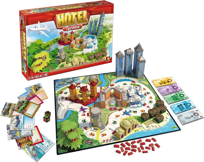 Esdevium Games Juego de Mesa Asmodee Hotel Tycoon, Juegos de Tablero, Los Mejores Precios: Amazon.es: Juguetes y juegos