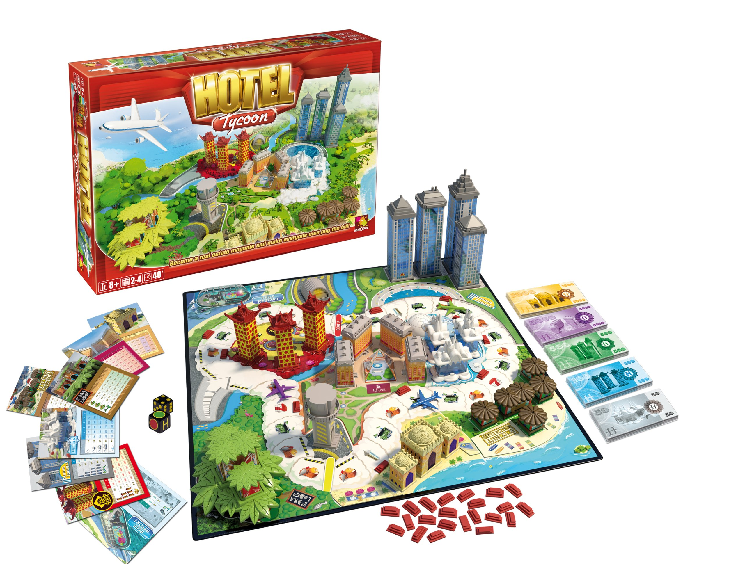 Hotel Tycoon Board Game Buy Online In Lithuania At Lithuania Desertcart Com Productid 48306248