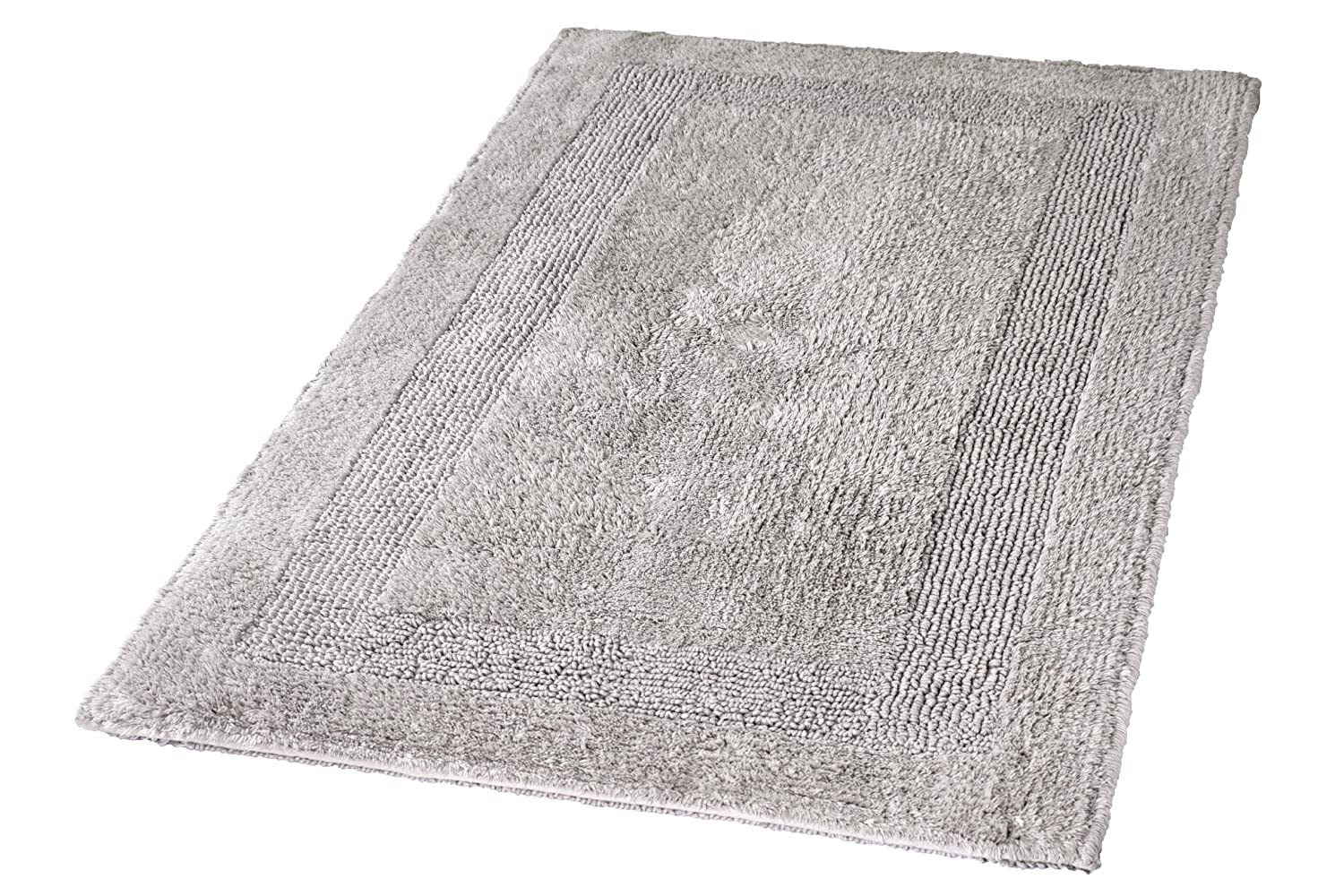 Kleine Wolke Arizona Bath Rug 55 X 65 Cm Silver Grey Amazon Co