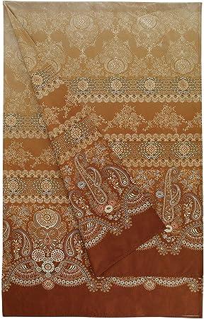 Bassetti Gran Paradiso Foulard, algodón, Oro, 180 x 270 cm: Amazon ...