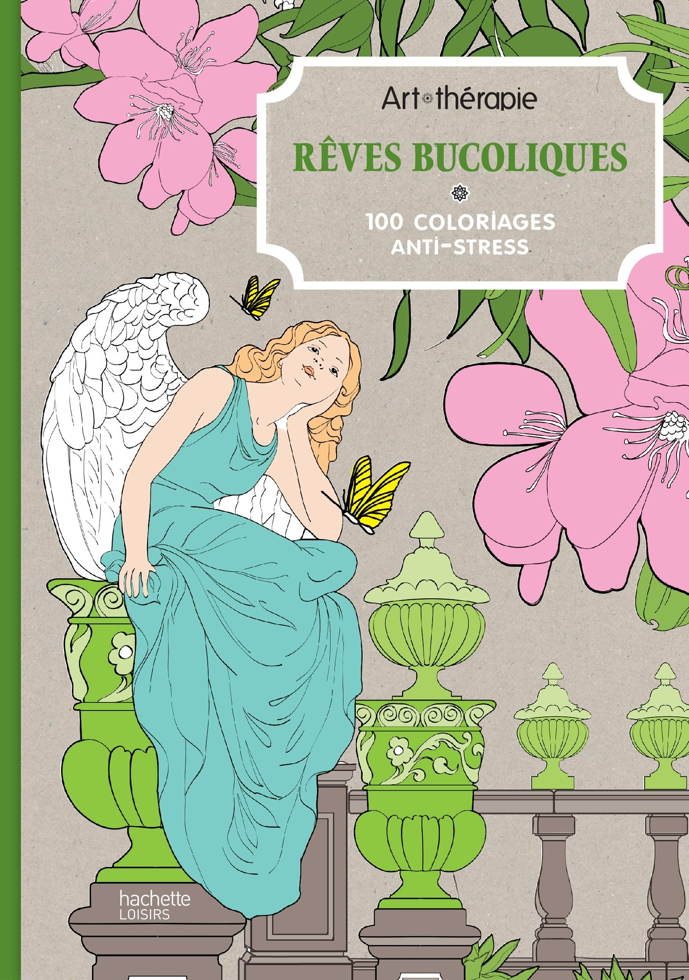 Art therapie Reves bucoliques 100 coloriages anti stress French Edition Collectif Hachette Amazon Books