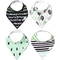 "Baby Bandana Drool Bibs 4 Pack Gift Set for Boys""Ranger Set"" by Copper Pearl"