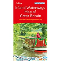 Collins Nicholson Inland Waterways Map of Great Britain (Collins Nicholson Waterways Guides)