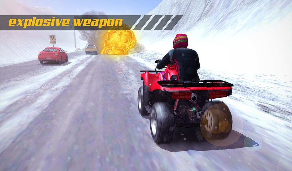 Toy Blast Update For Kindle : Atv quad bike frozen highway nitro charged blast turbo