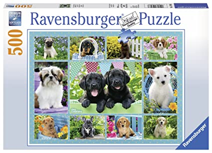 Ravensburger Cute Dogs Jigsaw Puzzle (500 Piece)