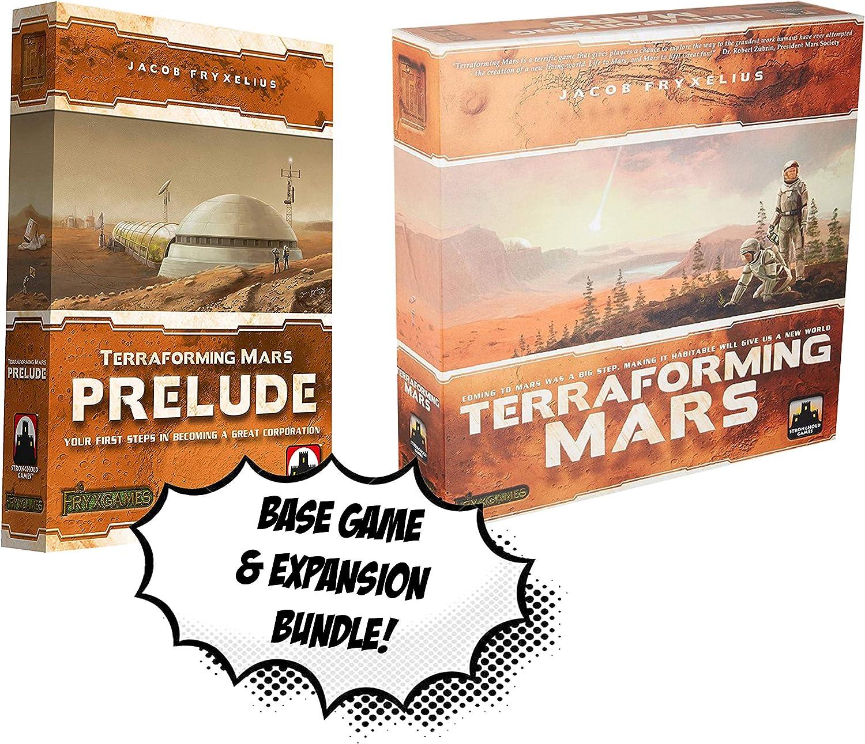 Juego Base Transforming Mars + Terraforming Mars: Prelude ...